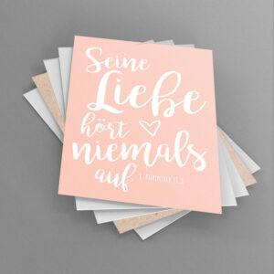 Postkarten-Set «Typografie»