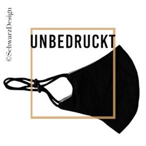 "Mund-Nasen-Maske 3-lagig ""unbedruckt"""