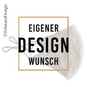 """Mund-Nasen-Maske 3-lagig """"Wunschdesign"""""""