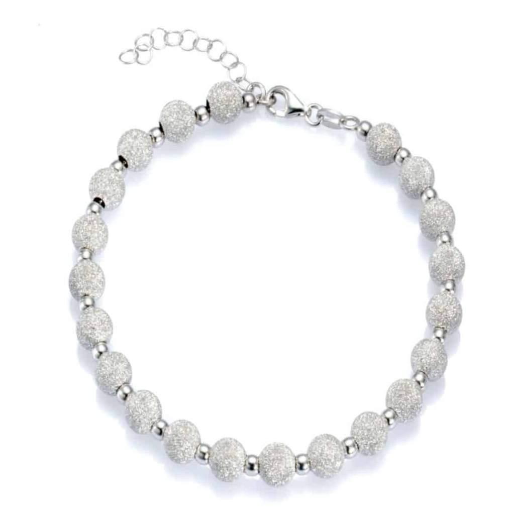 Armband mit Kugel Silber 925