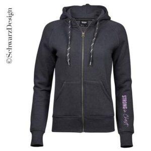 Zip-Hoodie | Fashion Kapuze Feminin