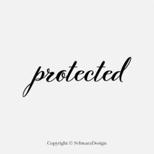 """Mund-Nasen-Maske 3-lagig """"Protected"""""""