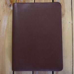 Buch Schutzumschlag Leder