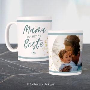 "Fototasse ""mama"""