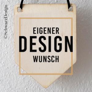 Wimpel «wunschdesign»