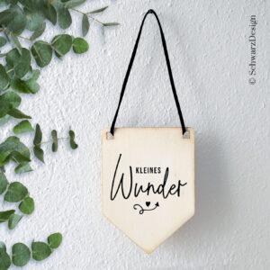 Wimpel «kleines wunder»